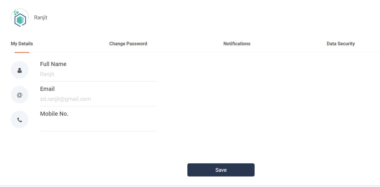 Qualzz Account settings