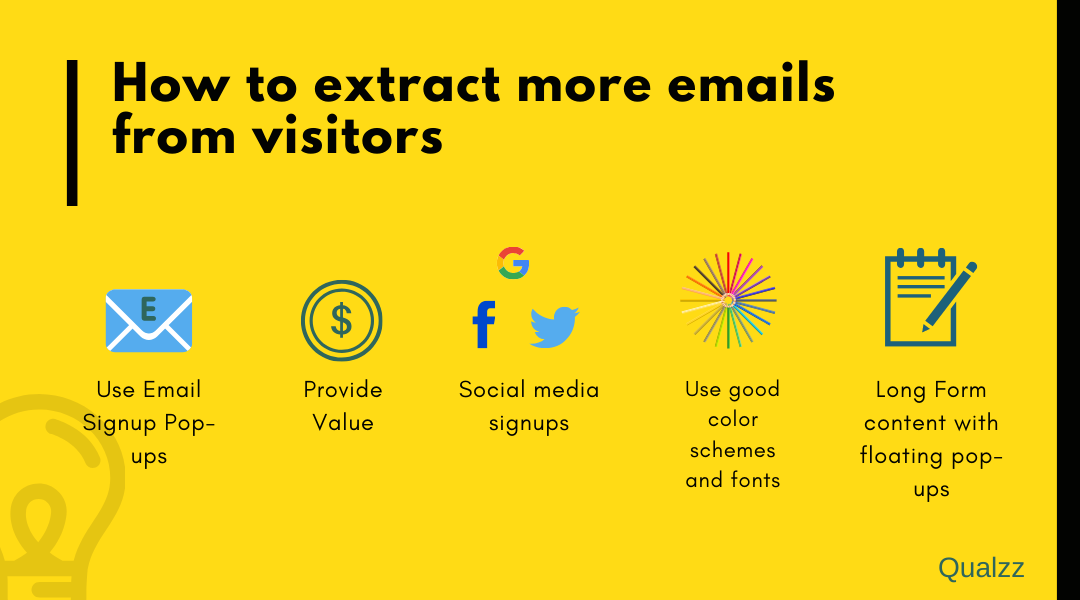 Extract More Emails From Visitors