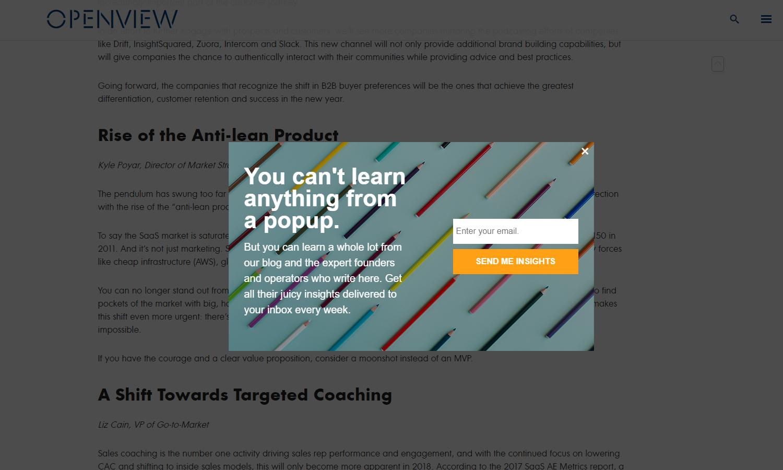 Email capturing best practices -Qualzz