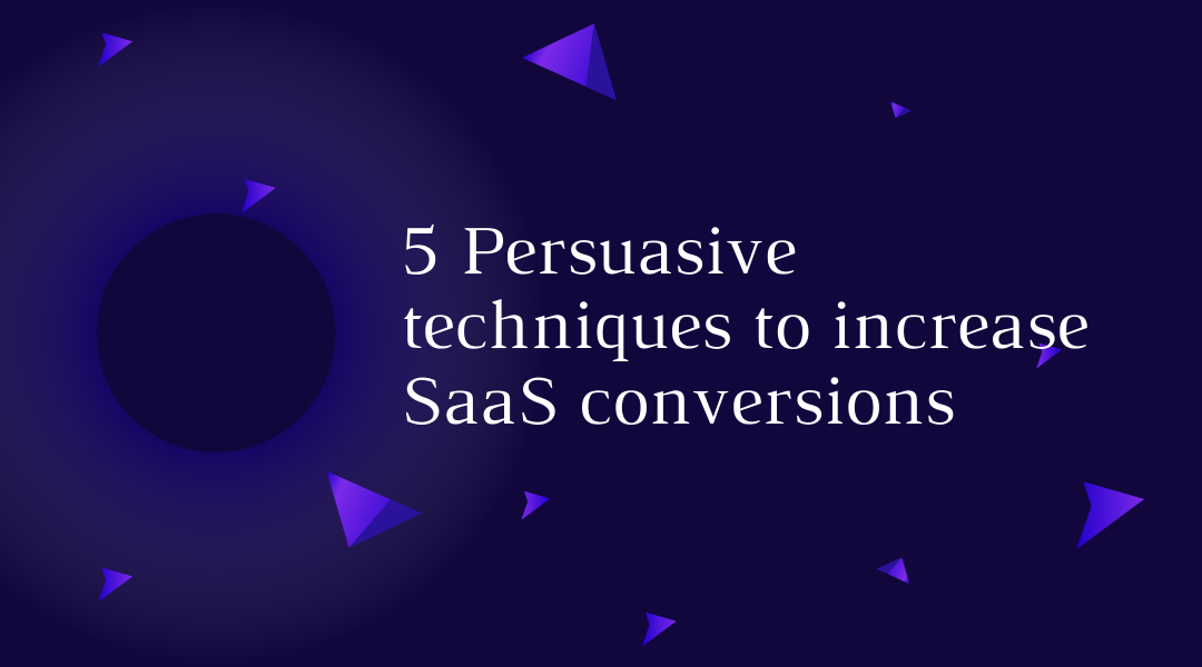 Persuasive techniques to increase conversions