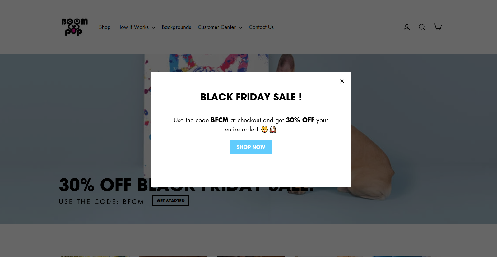 Shopify coupon code popups