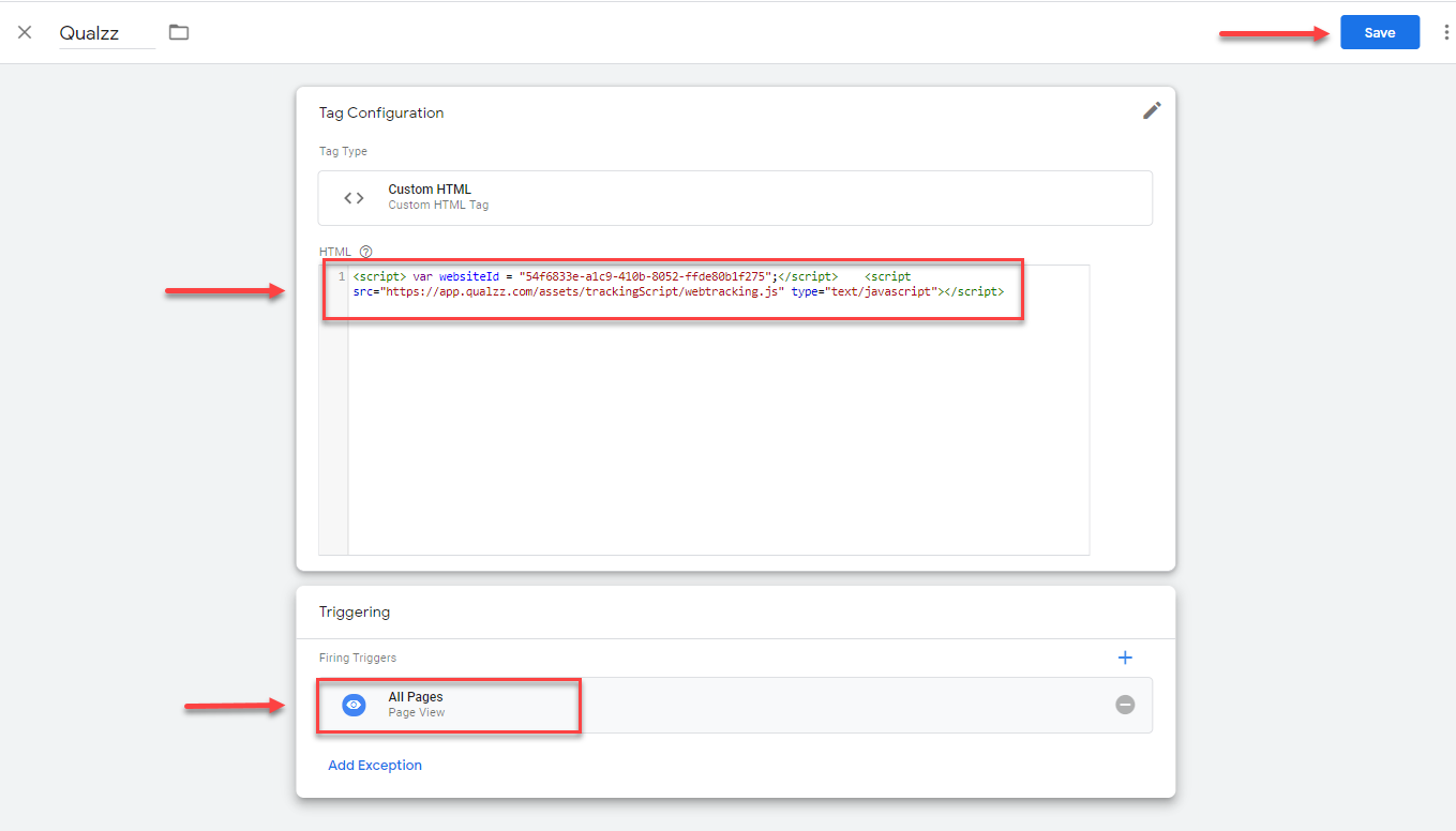 Trigger popup on all pages using Goggle tag manager