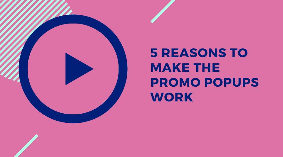 Promo Pop-up Ineffectiveness