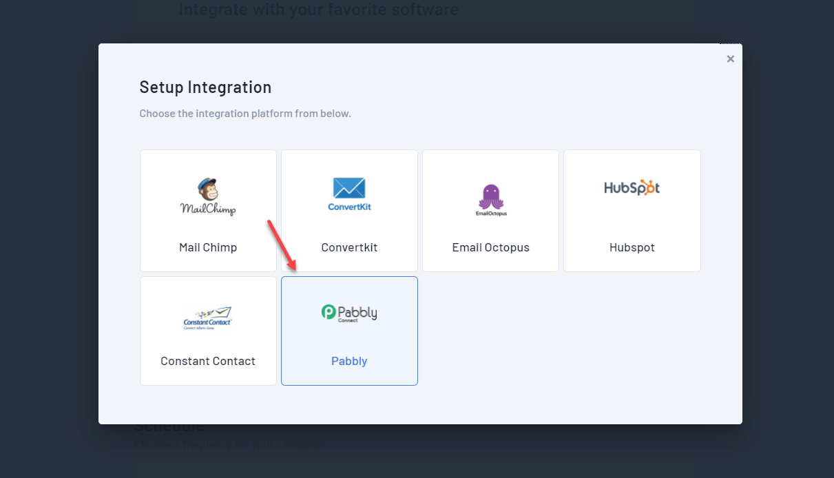 Integrate Qualzz and pabbly connect