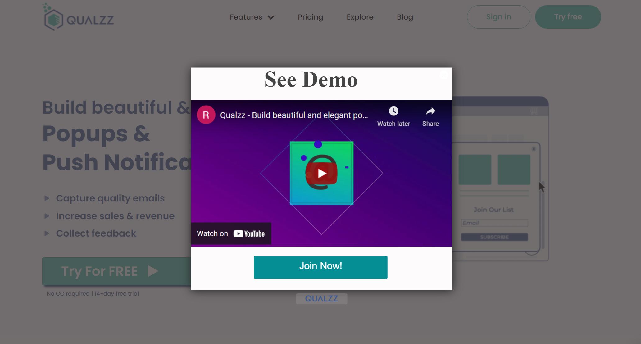 Wordpress Video popup